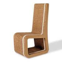 Honeycomb cardboard chair - Stripe 20 - Origami Furniture