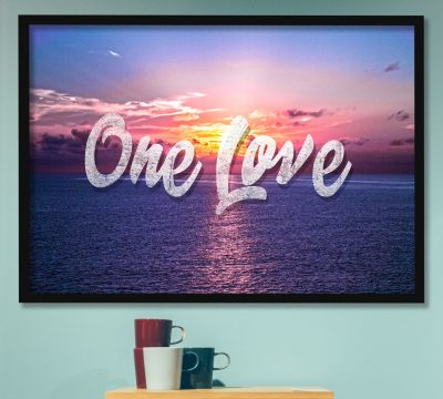 Enhanced Matte Paper Framed Poster