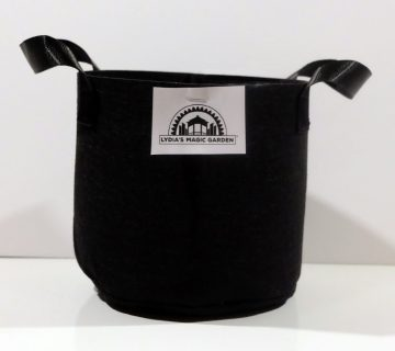 Lydia's Magic Garden 1 Gallon Felt Grow Bag