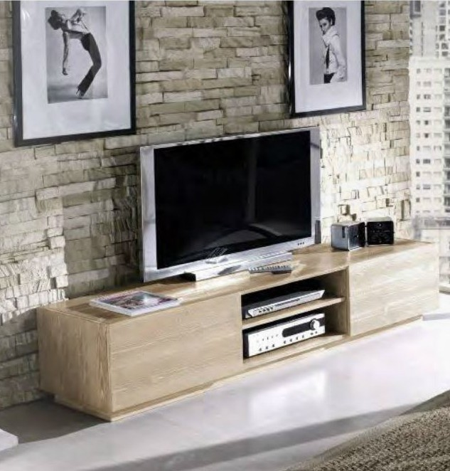 Mobile porta TV 2 ante design made in Italy in legno di