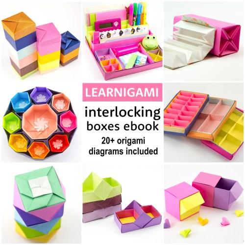 LEARNIGAMI – Interlocking Origami Boxes E-book