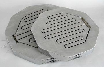 LIDS WITH ELEMENT GROOVES