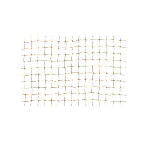 Netz steinfarben PE 20 x 20mm flammschutz B1