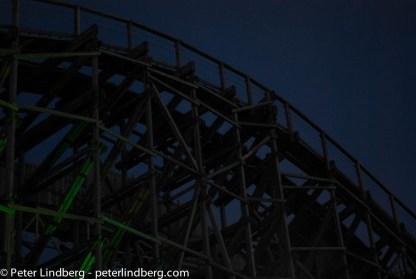 At Night: The Night Train - Peter Lindberg Photography