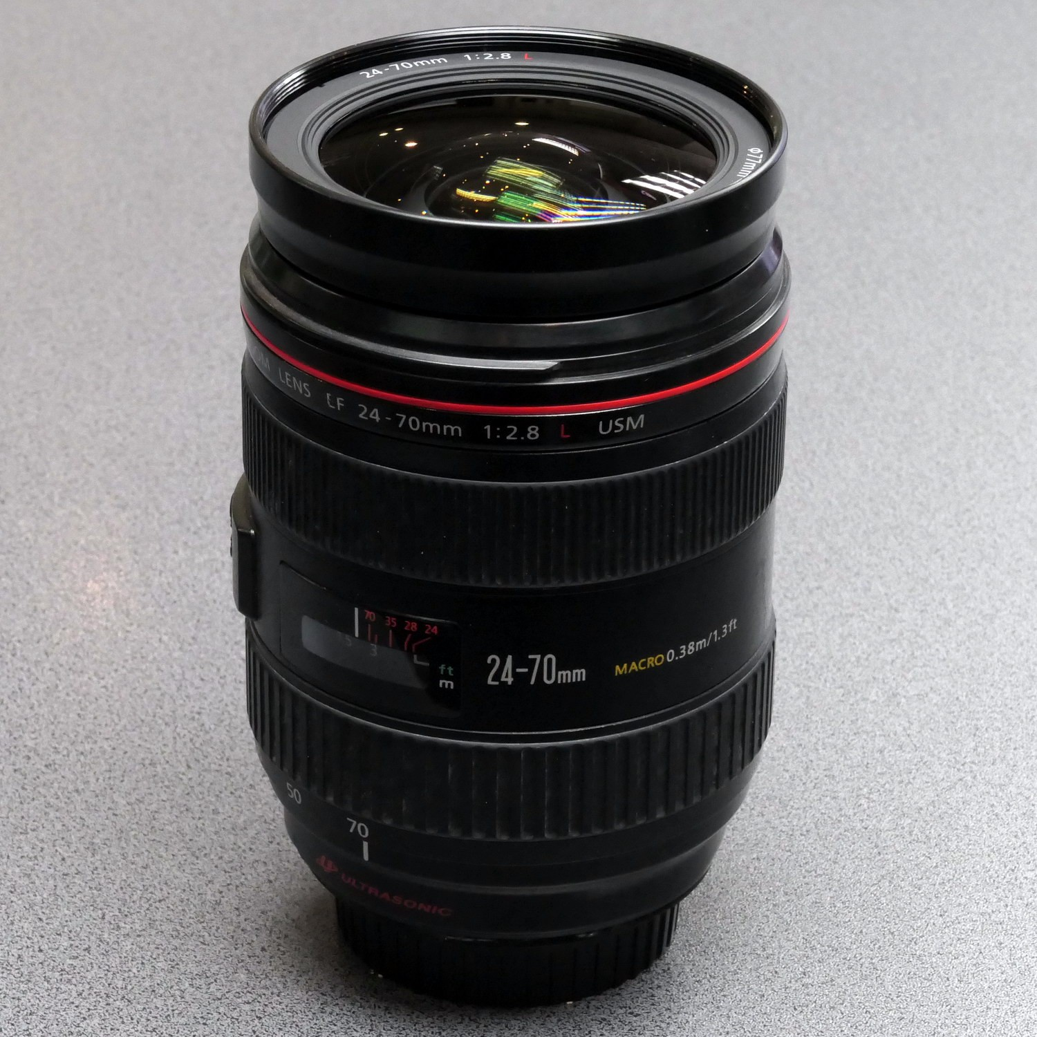 Used Canon 24-70mm F2.8 L EF
