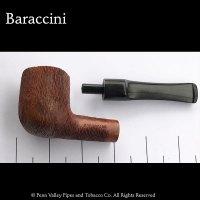 Baraccini Italian briar pipe - line carved at Pipeshoppe.com