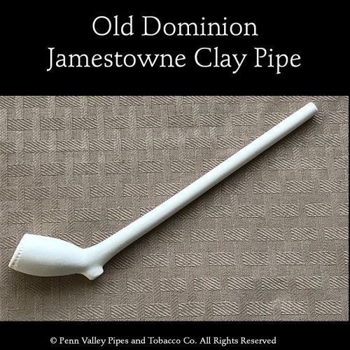 Old Dominion Jamestowne clay pipe
