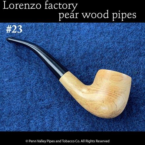 Lorenzo Pear Wood Pipe at Pipeshoppe.com