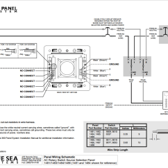 Blue Sea Dual Battery Switch Wiring Diagram Fisher Dvc 2000 Systems 1481 360 Series Panel 120vac Rotary 32a