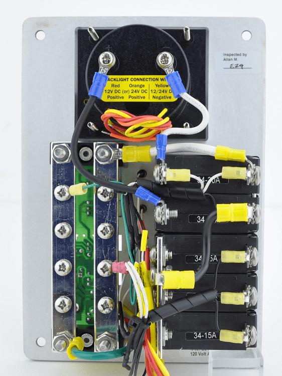 A Main Breaker Panel Wiring Ac Main And Branch Traditional Flat Metal Circuit Breaker