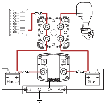 Wiring Diagram For 2 Boat Batteries