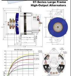 alternator wiring diagram on delco one wire marine alternator wiring [ 800 x 1041 Pixel ]