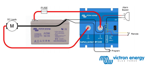 Victron VE Bus BMS  Battery Management Systems for 12 volt Lithium battery banks