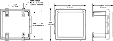 Blue Sea Systems 3119 ELCI Main Surface Mount System Panel