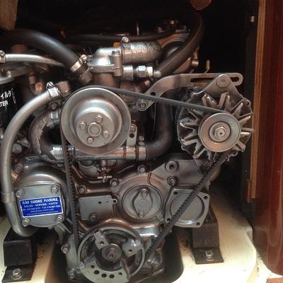 diesel engine alternator wiring diagram honda cb400 installing a balmar on yanmar 3jh3e with description, photos and video