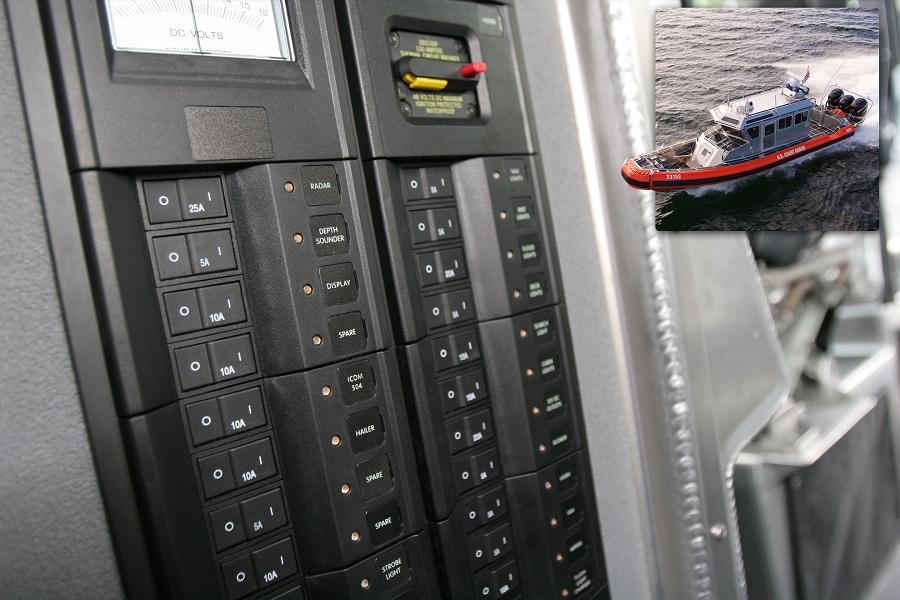 Blue Sea Systems Custom Made Circuit Breaker Panel