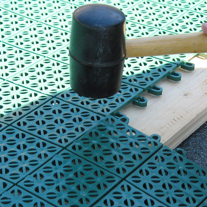 Pavimentazione colorata in plastica  Multiplate  Pontarolo Engineering