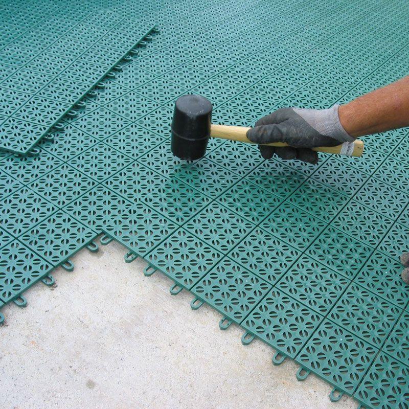 Pavimentazione colorata in plastica  Multiplate