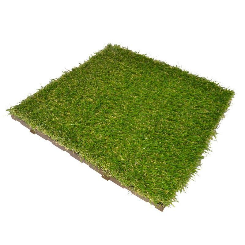 Mattonella modulare con erba sintetica  Greenplate