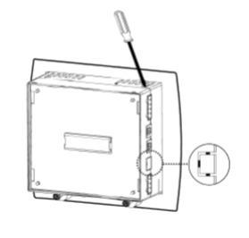 V100-17-RS4X Unitronics 1 RS232/RS485 port (Isolated)