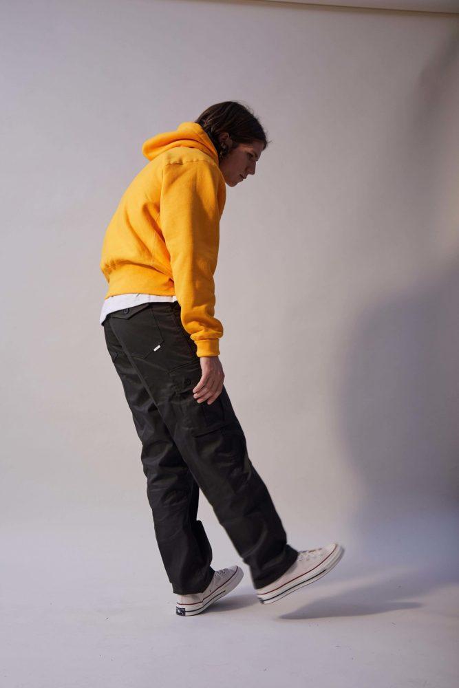 Logo Hoodie – Yellow Gold-3