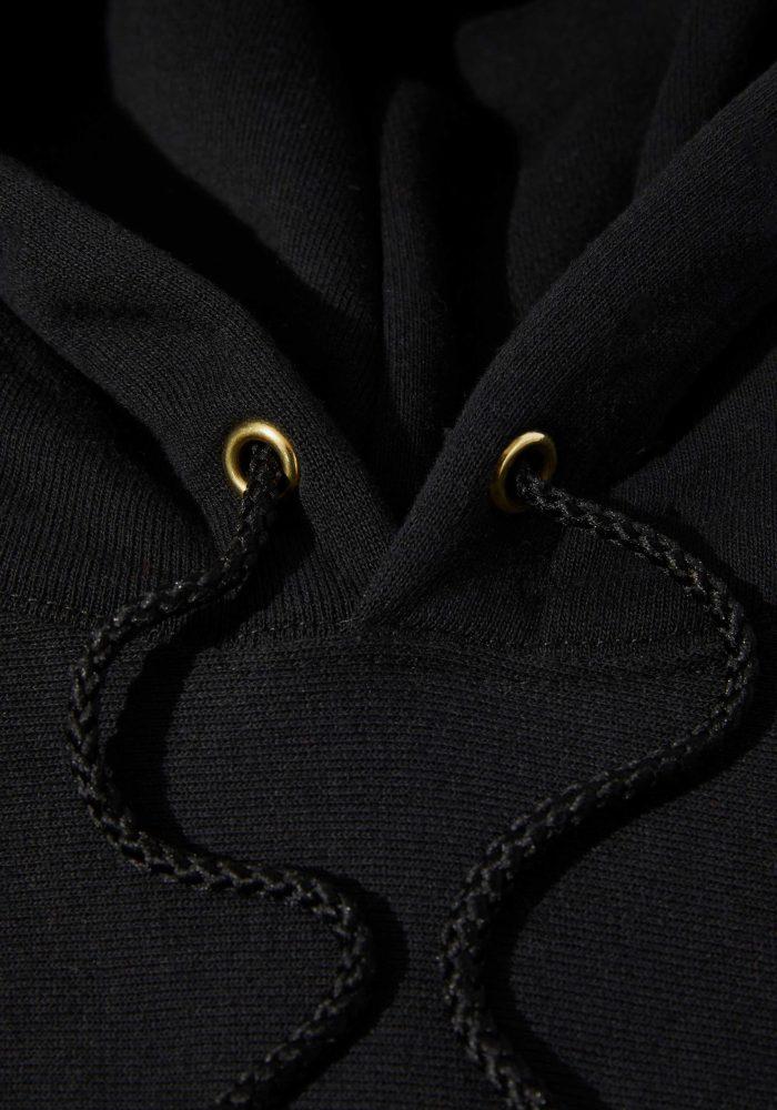 Logo Hoodie – Black-7