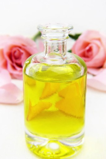 bottle of oil, cosmetics, essential oils