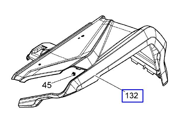Can-Am Seitenverkleidung vorne rechts G2