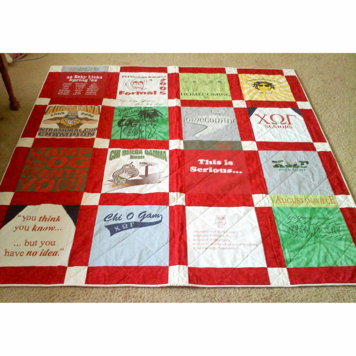 Quilt Materials Shirt T