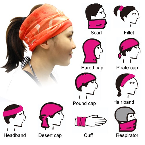 (50入) 多功能無縫魔術頭巾 S1-100-036 HFPWP | S1全球批發網 - Rakuten樂天市場