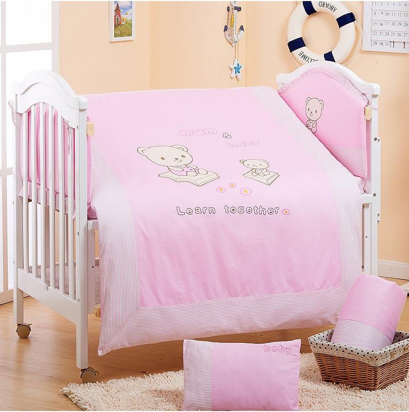嬰兒床圍八件套 童床嬰兒床床圍 床欄 防撞床圍 純棉床圍 可拆洗   快樂奶爸 - Rakuten樂天市場
