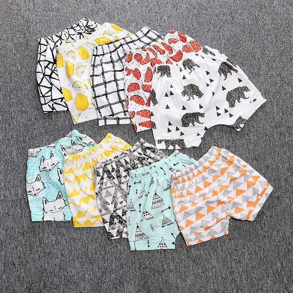 嬰幼兒短褲 嬰兒褲子 寶寶短褲 童裝 SK098 好娃娃心得 @ 抽象插畫的塗鴉設計 :: 痞客邦