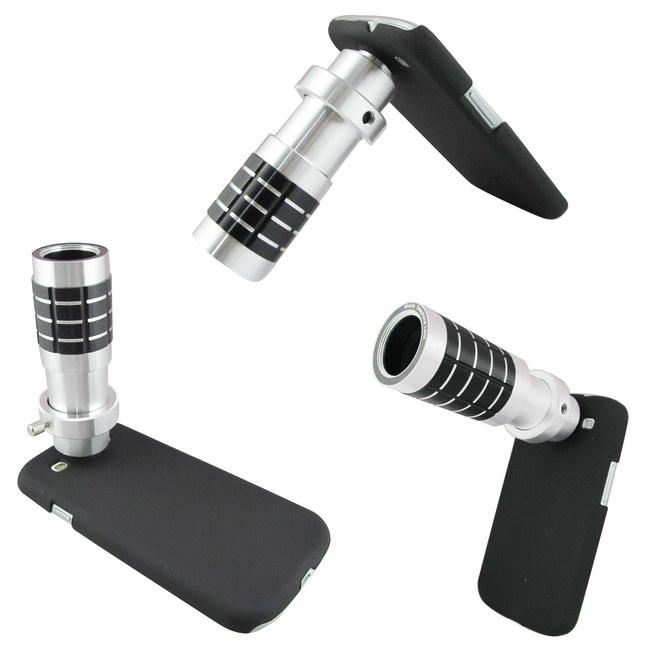 【最新】TS17銀砲管 Samsung S4(i9500)專用型 望遠鏡頭組(18倍光學變焦 ...
