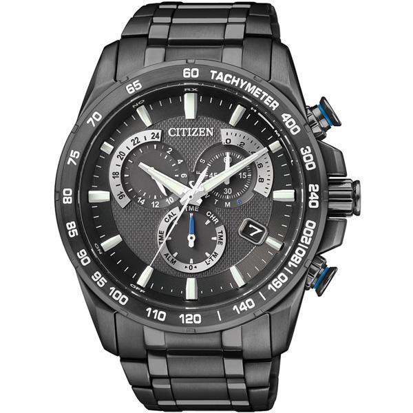 CITIZEN星辰AS8025-57E炫黑鈦風翱翔電波鈦金屬腕錶/黑面43mm   大高雄鐘錶城 - Rakuten樂天市場