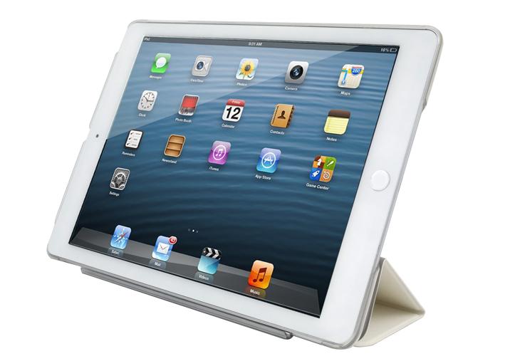 【優惠網站】新創設計師系列【扭蛋機(藍)】《 iPad Mini/Air/Pro 》水晶殼+Smart Cover(磁桿)沒個性星人Roo