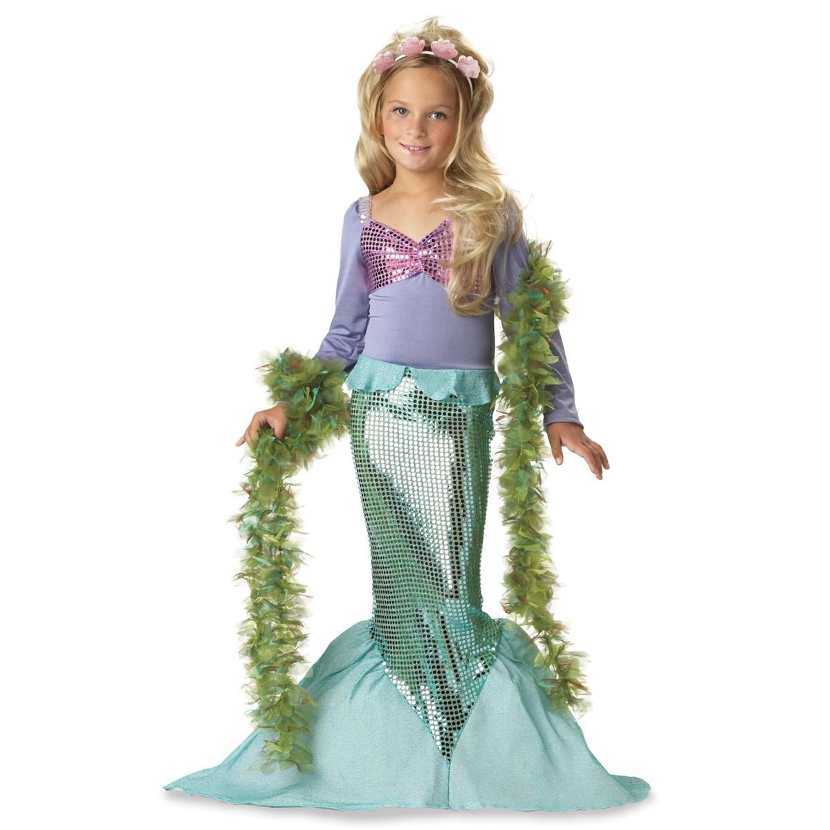 acomes   日本樂天市場: 小美人魚服裝迪士尼角色扮演公主愛麗兒美人魚服飾為孩子服裝 10P23Aug15