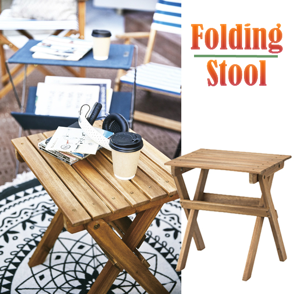 camping chairs with side table maple kitchen agogonus folding stool nx 524 chair outdoors indoor beach blue white horizontal stripe outdoor combined use hammock