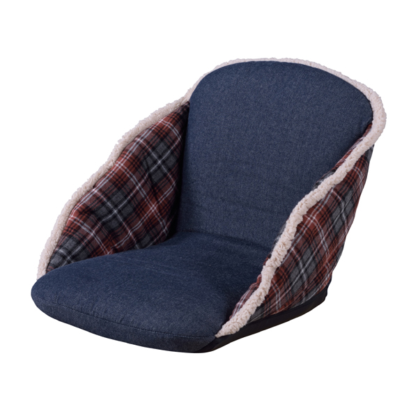 foldable cushion chair tiffany chairs for sale agogonus take one floor rkc 170rd legless personal sofa single folding american north europe vintage antique kotatsu coverlet