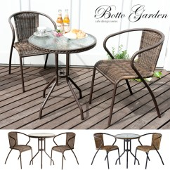 Rattan Garden Chairs And Table French Dining Nz Air Rhizome Set Three Points Chair Glass Porch Fashion Popularity Boot Bot