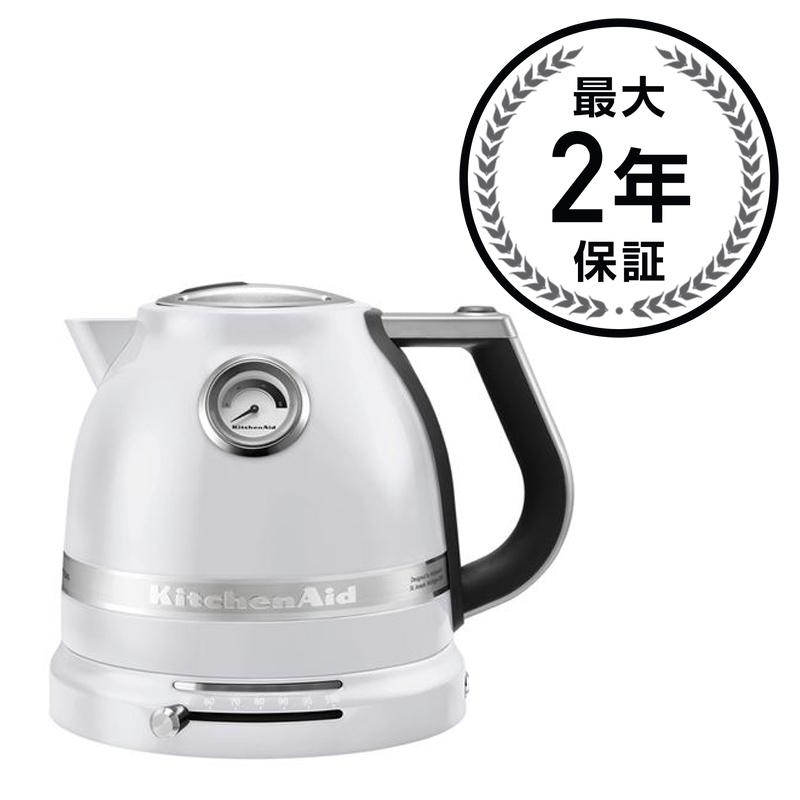 kitchen aid electric kettle small tv alphaespace usa pro line electricity 1 5l pearl white kitchenaid frosted