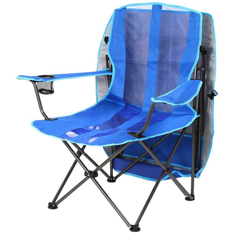 folding canopy chair counter top chairs alphaespace usa kelsyus original most suitable for sunburn measures beach outdoor festival athletic meet camping with parasol