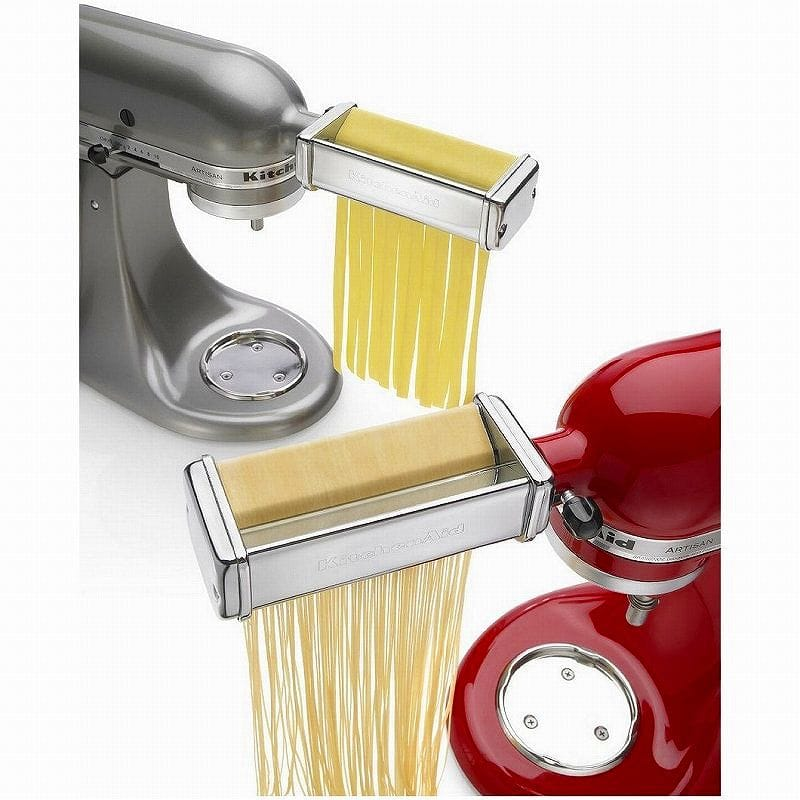kitchen aid pasta cost of painting cabinets alphaespace fettuccine with all kitchenaid stand mixer roller and cutter linguini attachment kpra