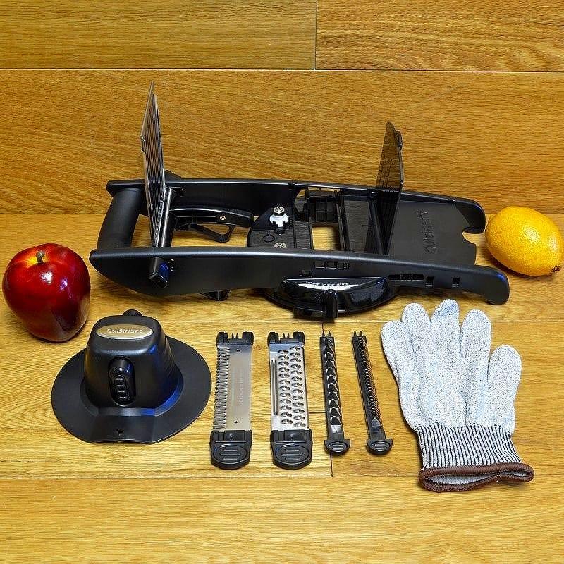 mandolin kitchen slicer dog proof trash can alphaespace cuisinart 切片器曼陀林黑cuisinart ctg 00 人曼陀林黑色