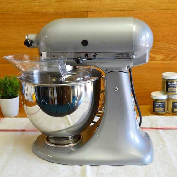Alphaespace Kitchenaid Stand Mixer Artie Ocean Series 5 Liters And Metallic Chrome