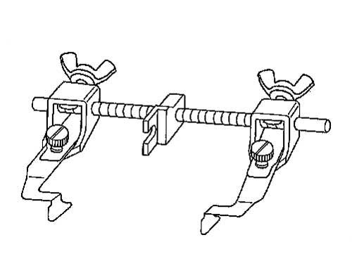 Ando Sewing Machine: Nippo guide back and forth adjustable