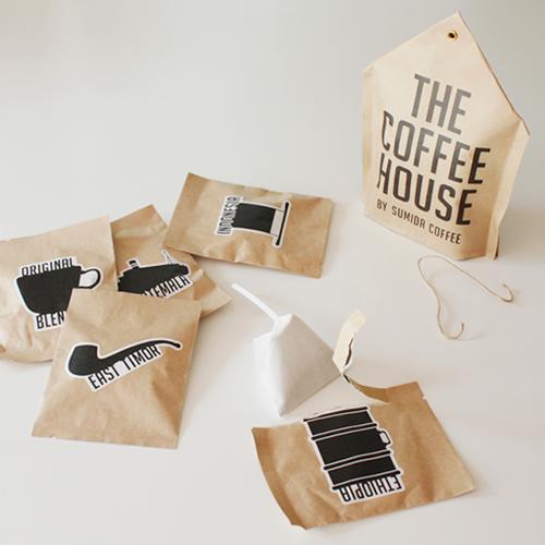 【楽天市場】【THE COFFEE HOUSE BY SUMIDA COFFEE】すみだ珈琲 コーヒバッグ 5個入り ギフト...