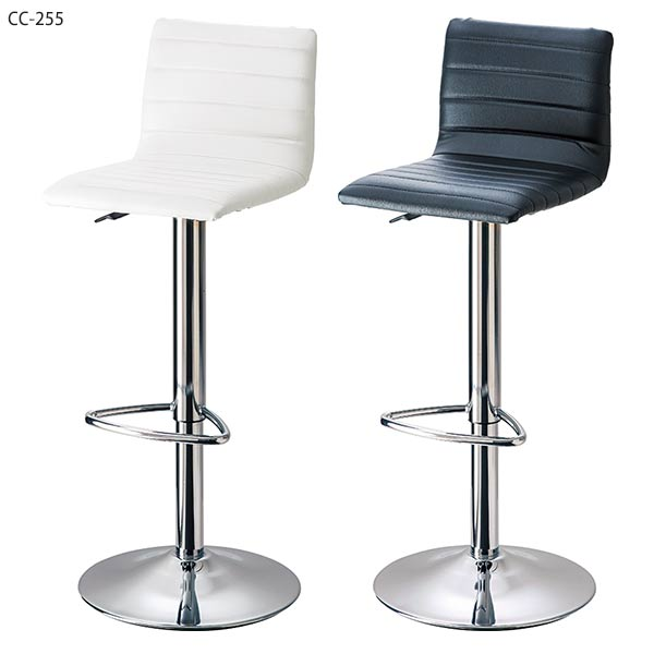 high chair that attaches to counter recliner lounge atom style nordic stool rotating fashionable bacher antique lifting white modern chairs black with backrest
