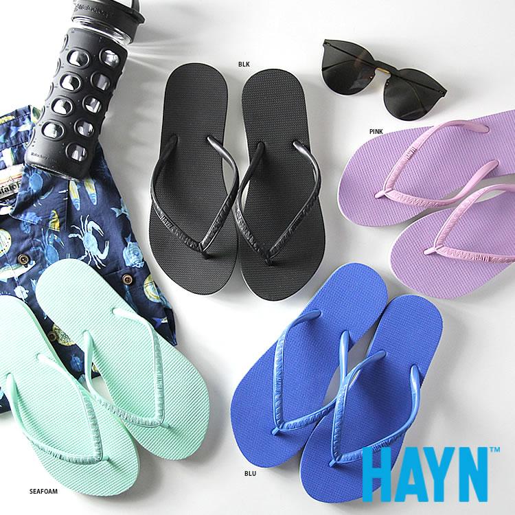 【楽天市場】ハイアン ビーチサンダル レディース HAYN [HAYN2100] A2671PSH001/003/005/009 ...