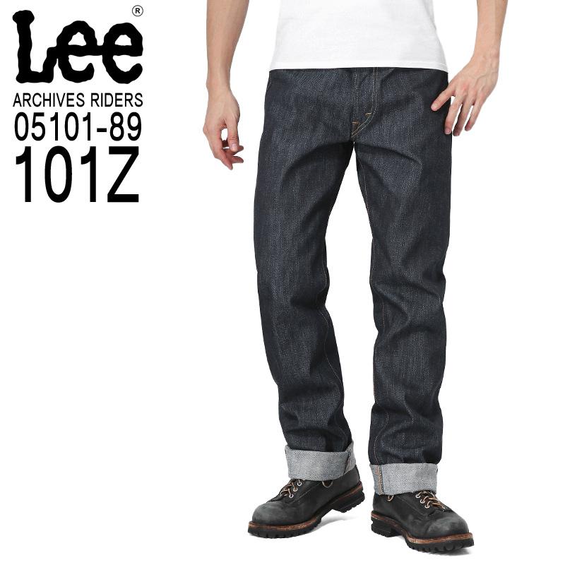 【楽天市場】店內20%OFF Lee リー 05101-89 ARCHIVES 52s RIDERS 101Z 1952年 ...