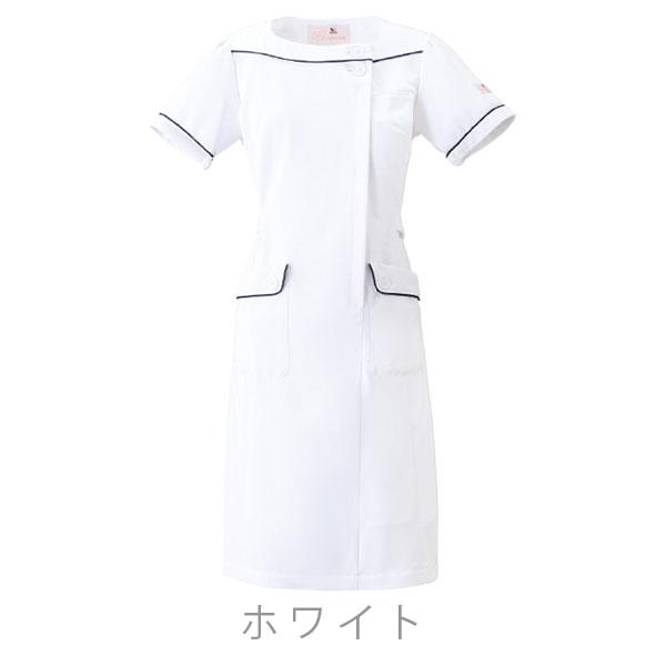 Blanc Ange R   日本樂天市場: NASWA 白色連體克拉維伸展植物學線 HI108-按鈕和裝飾線條和圓滑設計女僕和護士被小 ...